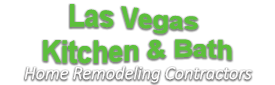 lasvegaskitbathremodellogo-We do kitchen & bath remodeling, home renovations, custom lighting, custom cabinet installation, cabinet refacing and refinishing, outdoor kitchens, commercial kitchen, countertops, and more